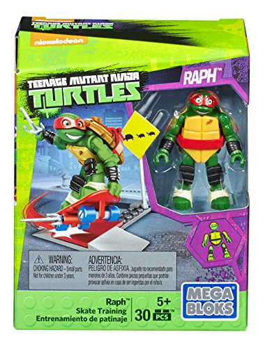 [Mega Construx Teenage Mutant Ninja Turtles Raph Skate Training Pack] (Teenage Mutant Ninja Turtles Raph)