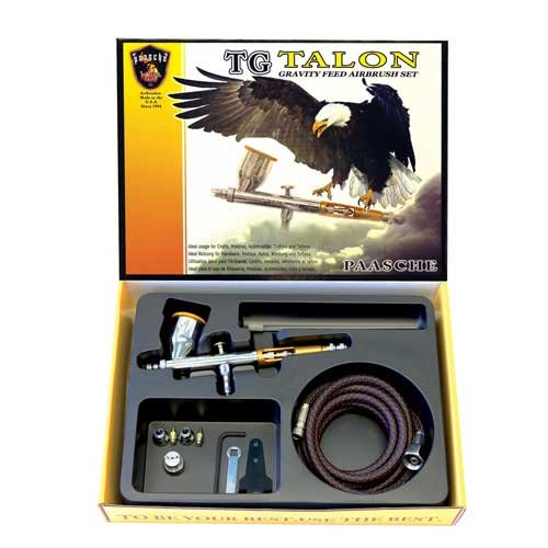 Paasche TG-3F Double Action Gravity Feed Airbrush by Paasche Airbrush