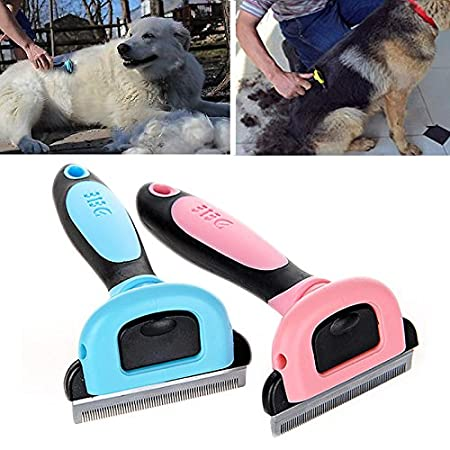 New Pet Dog Cat Hair Trimmer Grooming Clipper Hair Remover Shaving Blue S