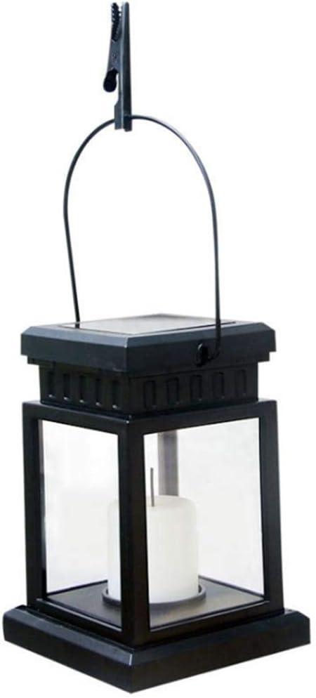 Farolillo solar jardín Iluminación de Lámpara Solar Jardín – Lámpara de mesa con LED Vela – Vintage Solar Farol para exterior hängend , resistente al agua: Amazon.es: Iluminación
