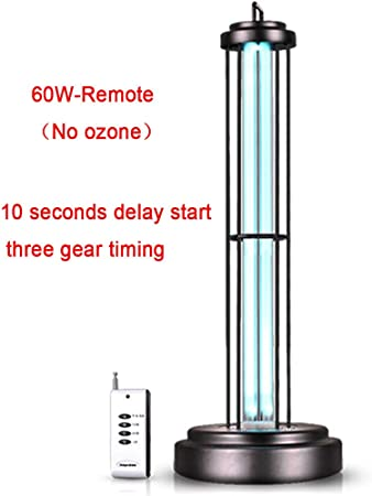 WWJQ Lámpara germicida UV De Alta Potencia 60W,(Sin ozono ...