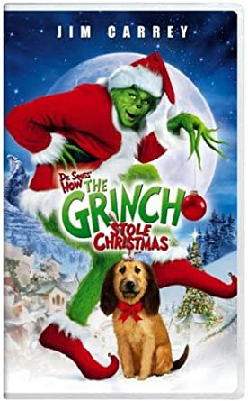 How The Grinch Stole Christmas 2000 Vhs.Amazon Com How The Grinch Stole Christmas Vhs Jim Carrey