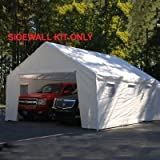 King Canopy 18 Ft x 20 Ft Sidewall Kit w/Flaps and Bug Screen Windows For Sale