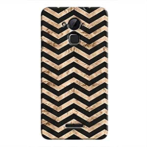 Cover It Up - Brown Black Tri Stripes Coolpad Note 3 Hard case