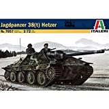 Italeri - I7057 - Maquette - Chars d'assaut - Jagdpanzer 38 T Hetzer - Echelle 1:72