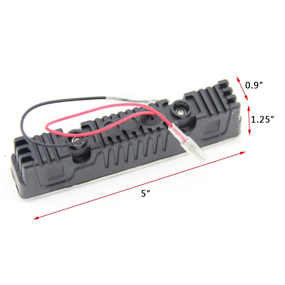 2/x 4/LED Feux de Jour Automotive d/éclairage de voiture lumi/ère du jour 4/W 12/V