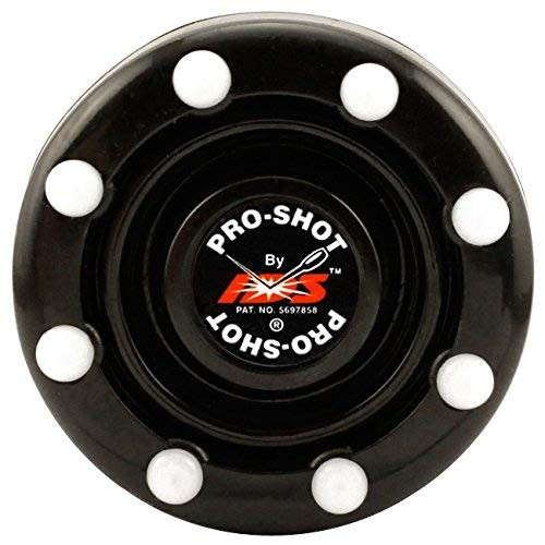 In Pro Puck Hockey Line - IDS Pro-Shot Puck – Official Roller Hockey Puck Of AAU USA & USA Roller Sports (Black)