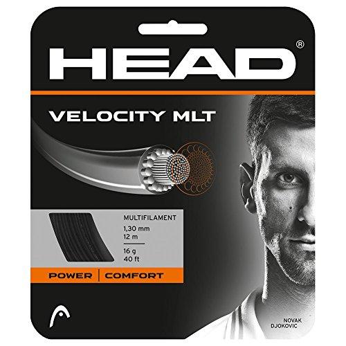 HEAD Velocity Tennis String Set, 16g, Black