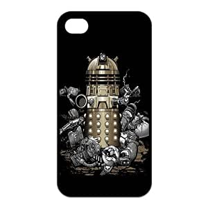 Doctor Who Dalek Robot for iPhone4 or 4s Best Rubber Cover Case at Color Your Dream Mall hjbrhga1544