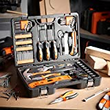 Tool Kit. Best Portable Big Basic Starter Professional Household DIY Hand Mixed Repair Set W/Storage Case For Home, Garage, Office For Men, Women. Includes Screwdriver, Pliers, Screwdriver (100 Piece)