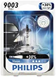 Philips 9003 Vision Upgrade Headlight Bulb, 1 Pack