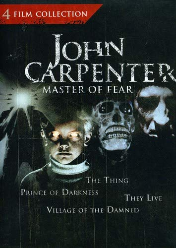 John Carpenter: Master of Fear 4 Film Collection (The Thing / Prince of Darkness / They Live / Village of the Damned)]()