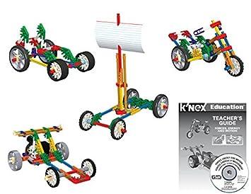 Amazon.com: K'NEX Education – Forces, Energy, and Motion Set – 442 ...