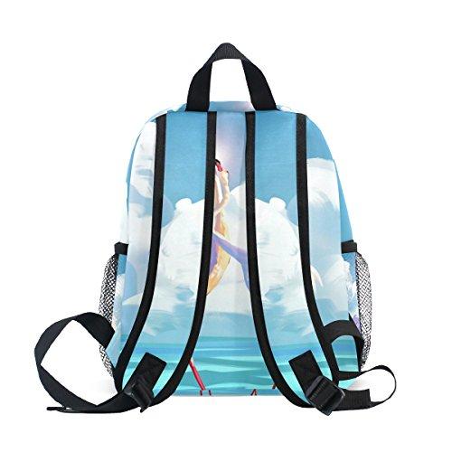 2c267554d ISAOA Niño Ave 3D niños mochilas Kinder preescolar niño niños/niñas mochila  Linda mochilas Nuevo