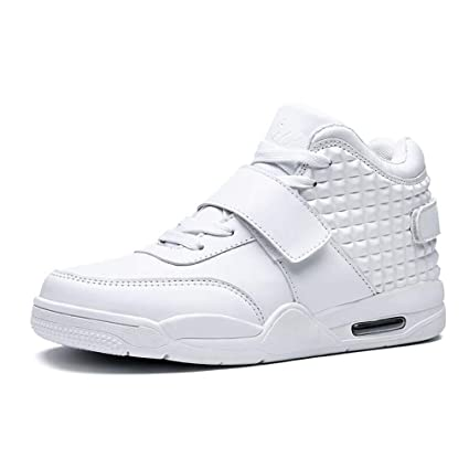 63f1e16ffdbeb Amazon.com: Hy Men's Basketball Shoes PU Spring/Fall New Comfort ...