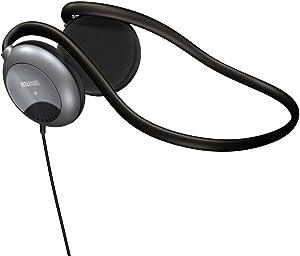 Maxell 190316 Stereo Neck Bands, white blue black