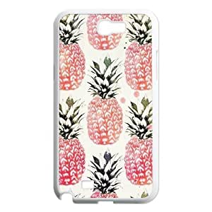 Pineapple ZLB589427 Customized Case for Samsung Galaxy Note 2 N7100, Samsung Galaxy Note 2 N7100 Case