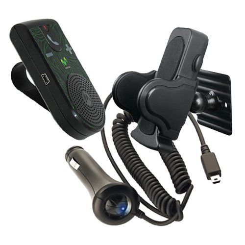 motorola-t307-movistar-car-visor-mount-bluetooth-speakerphone-car-kit-with-car-charger-and-universal