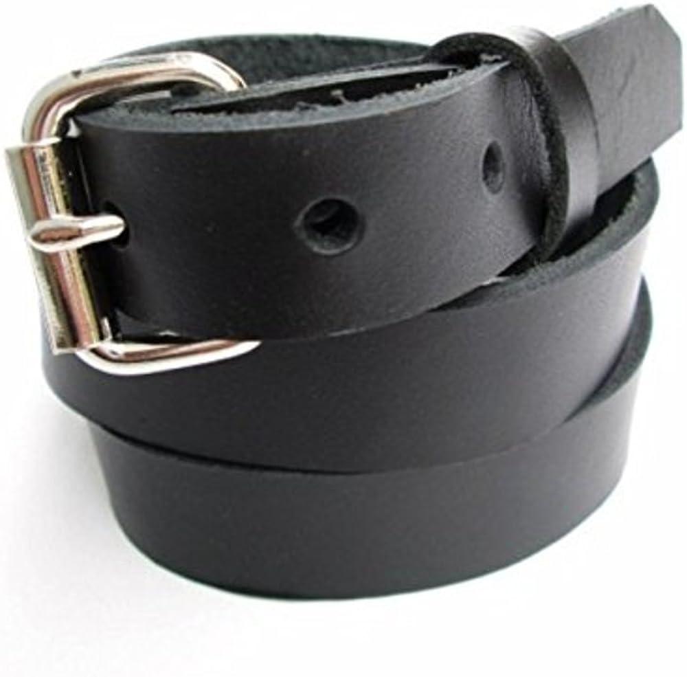 Boys Chocolate Kids Leather High Quality Fashion Dress Belt
