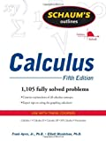 img - for Schaum's Outline of Calculus, 5th ed. (Schaum's Outline Series) 5th edition by Ayres, Frank, Mendelson, Elliott (2008) Paperback book / textbook / text book