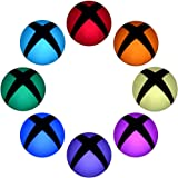 eXtremeRate 16 pcs(a Set) Custom Polychrome Home Button Power Switch Stickers Skin Cover for Xbox One Console