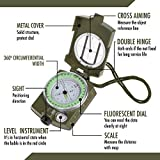 Waterproof Military Lensatic Sighting Compass