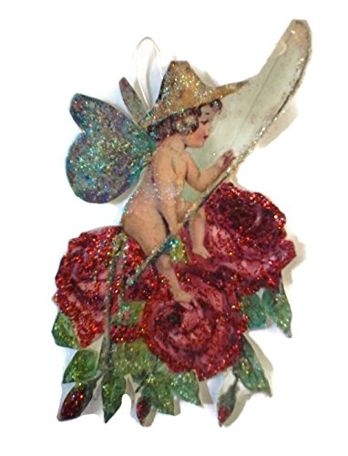 Woodland Garden Fairy Ornament Decoration Fishing Nymph