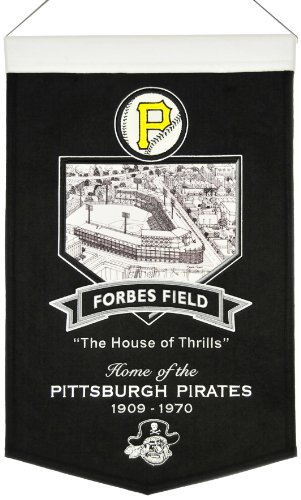 MLB Pittsburgh Pirates Forbes Field Stadium Banner - Forbes Field Baseball