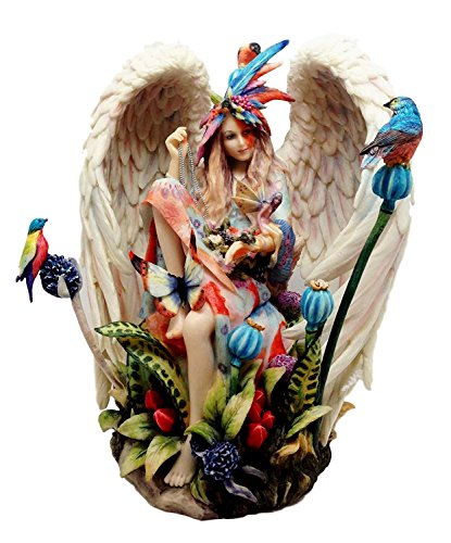 Wolk the best amazon price in savemoney atlantic collectibles stock clearance sheila wolk masterpiece sanctuary native angel in heavenly garden figurine 9 fandeluxe