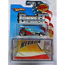 Hot Wheels Shock Factor Nevada NV State Connect Car & Display Case ,#G14E6GE4R-GE 4-TEW6W230007
