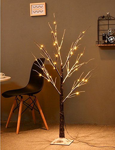 Outdoor Lighted Porch Trees - 6