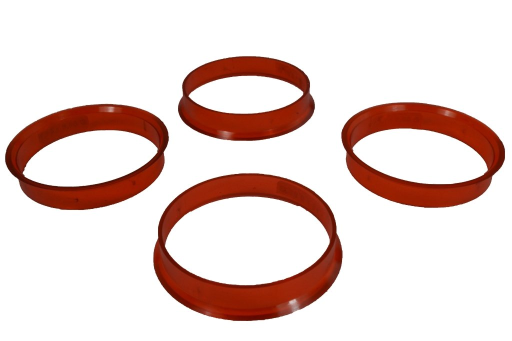 4 Anelli di centraggio 56, 6 mm –  54, 1 mm 6mm-54 1mm WamSter