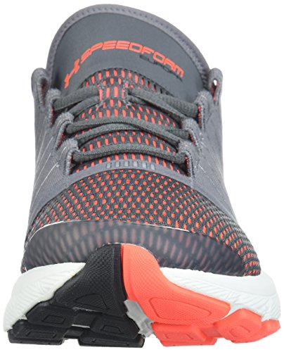 Under Armour Hombres Speedform Europa Graphite / Neon Coral / Chrome