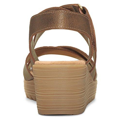 Aerosoles Handbog Larga Pelle Sandalo con la Zeppa