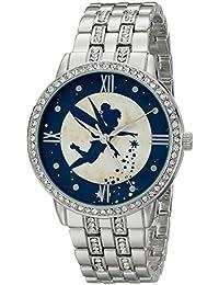 Women's W001830 Tinker Bell Analog Display Analog Quartz Silver Watch