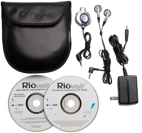 RioVolt SP100 Portable CD//MP3 Player with 120 Second Anti-Shock