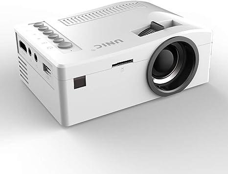 YONGCHY Mini Proyector De Vídeo Portátil, Full HD 1080P LCD LED De ...