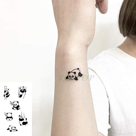 adgkitb 5piezas Impermeable Tatuaje Temporal Pegatina Ola Amor ...