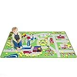 Kids Play Car Rug - Community Carpet Mat Large, 78'' x 39''