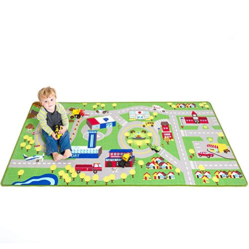 Kids Play Car Rug - Community Carpet Mat Large, 78'' x 39'' by Play Platoon (Image #6)