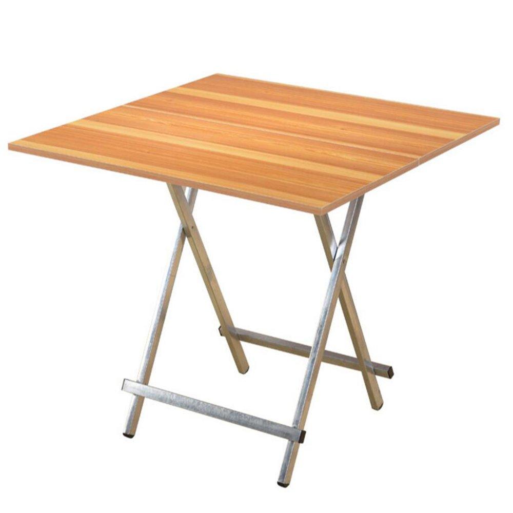 XIA 折り畳みテーブル 折り畳みテーブル/ソリッドウッドスクエアテーブル/便利なスタイルのダイニングテーブル/折りたたみ式のデスク/ホーム多目的テーブル複数色3サイズ 折りたたみテーブル (色 : 1, サイズ さいず : 70*70*74cm) B07DTB65NF 70*70*74cm|1 1 70*70*74cm
