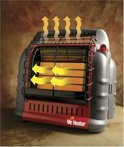 Enerco Mr. Heater MH18B Big Buddy Indoor/Outdoor Propane Heater Misc.