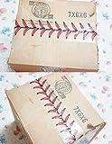 Baseball Stitches Design Cellophane Adhesive Tape
