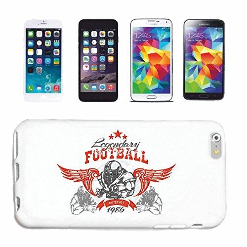 caja del teléfono iPhone 6+ Plus LEGENDARIO FÚTBOL FÚTBOL FÚTBOL AMERICANO equipo de la Bundesliga de fútbol del Colegio equipo de béisbol EQUIPO camiseta de fútbol Caso duro de la cubierta Teléfono