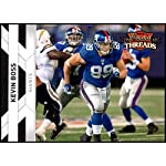 6f16c8581 2010 Panini Threads  98 Kevin Boss NM-MT New York Giants Official NFL  Football.