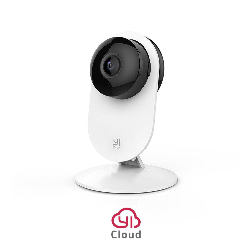 YI Home Camera 1080p Wireless IP Ü berwachungskamera, Smart Home Kamera mit Nachtsicht, Bewegungsmelder, 2-Way Audio, Haus Monitor Baby Monitor Pet Monitor, App fü r Smartphone/PC, YI Cloud Service Xiaoyi 6.97017E+12