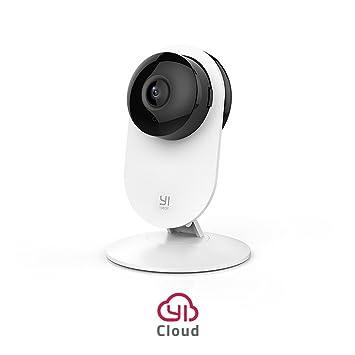 YI Caméra de Surveillance 1080p Caméra de sécurité Caméra IP Espion Bébé  Moniteur Wifi avec Objectif 546b57a53473