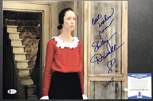 RARE!! Shelley Duvall OLIVE OYLE POPEYE Signed 11x14 #5 Photo BAS