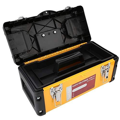 WolfGo ポータブルハンドヘルドツールボックスハードウェア収納ケース修復ツールコンテナオーガナイザー(G-586から14.5)