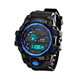 Electric Functional Digital Watches- Outdoor Sports Watches LED Backlight Display